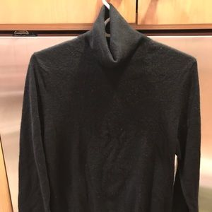 Burberry Black Cashmere Turtleneck Sweater